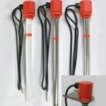 Immersion heaters used in the electroplating industry
