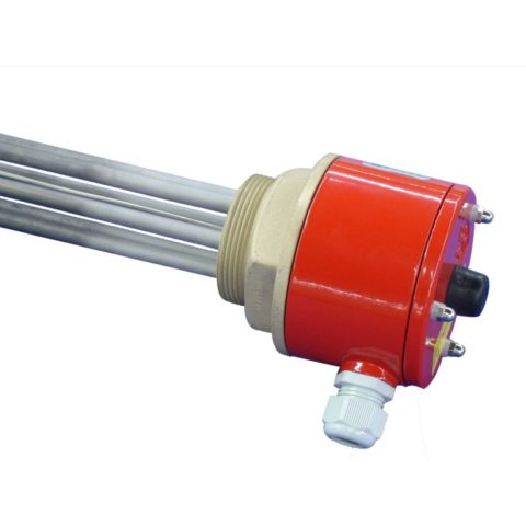 Thermostatic immersion heaters